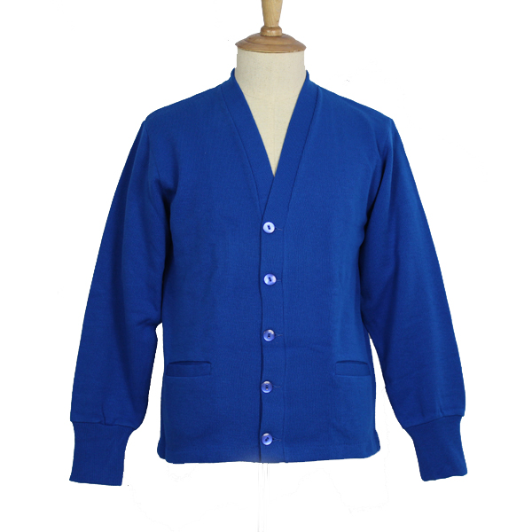 Royal Blue Cardigan Sweater - Classic Designs